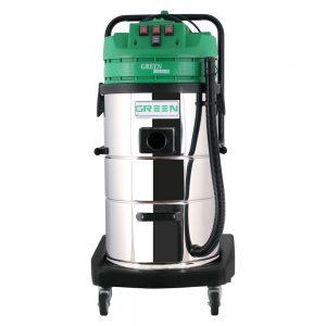 جاروبرقی صنعتی سه موتوره آب وخاک Green H703A