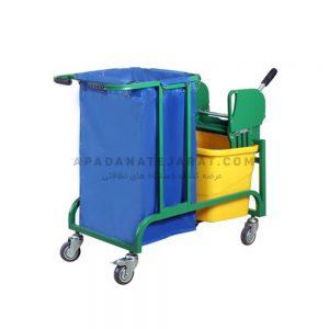 ترولی نظافتی مدل azin-2450
