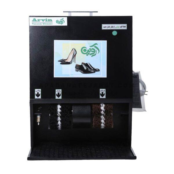 دستگاه واکس زن برقی 2 شیر مکانیکی مدل Arvin