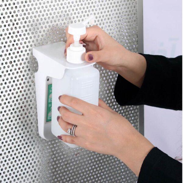 پایه دیواری بطری مواد ضد عفونی کننده R1
