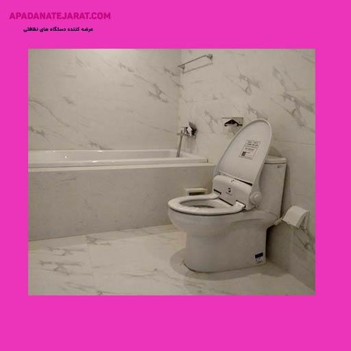 دستگاه رول توالت فرنگی هوشمند درب دار Navisani – ns100c