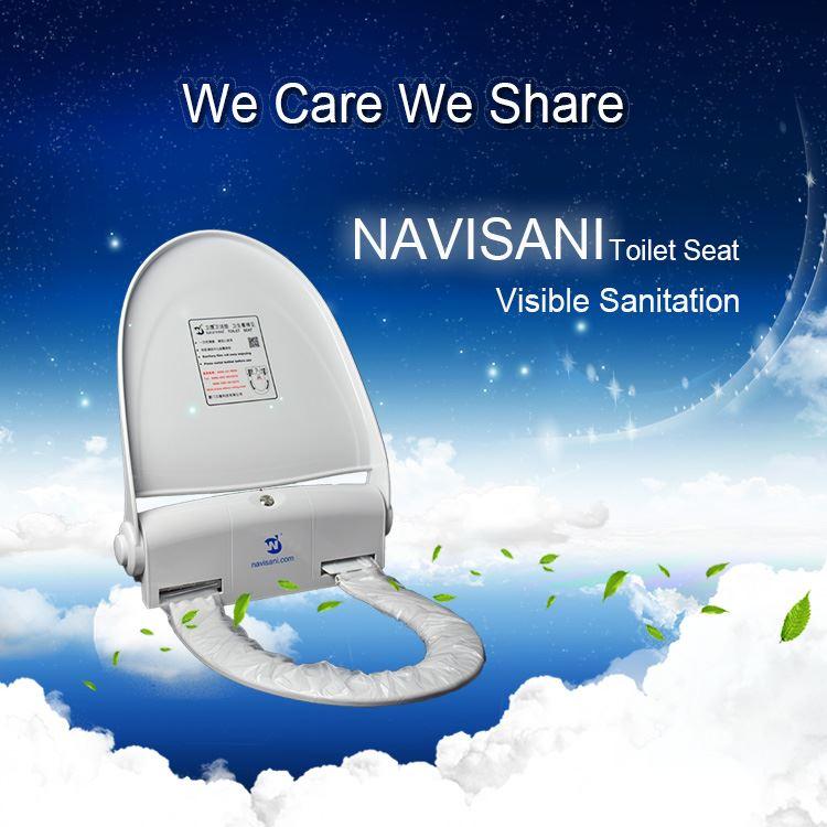 دستگاه اتوماتیک روکش توالت فرنگی بدون سنسور نویسانی Ns100b
