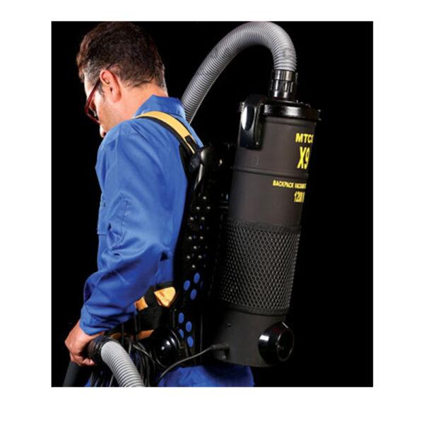 جاروبرقی کوله پشتی با موتور صنعتی کد X9-2020