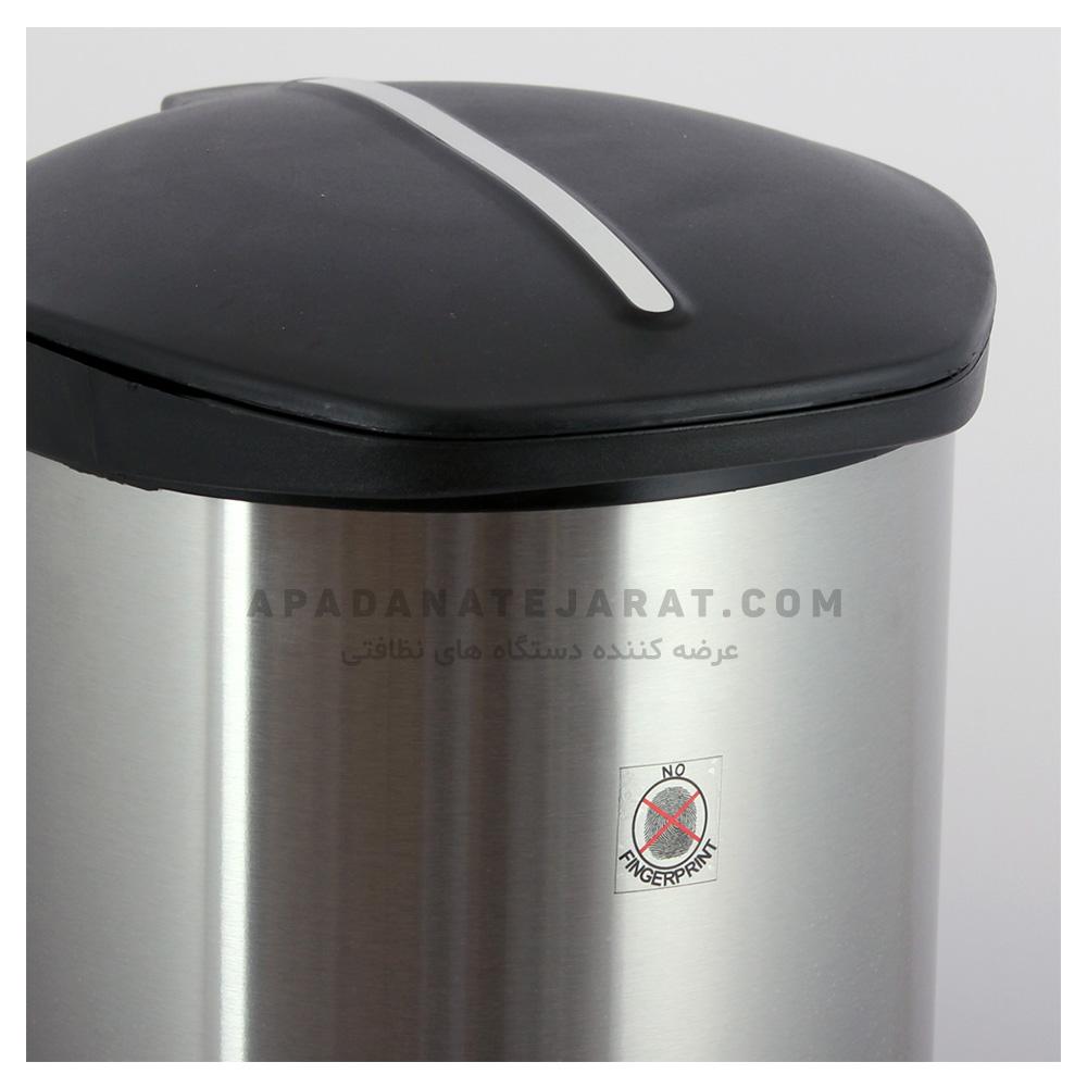 سطل استیل پدالدار اداری 30 لیتری