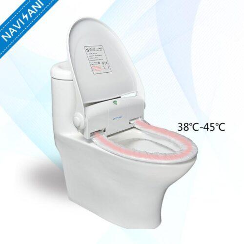 دستگاه اتوماتیک رول توالت فرنگی دارای گرمکن NS100E